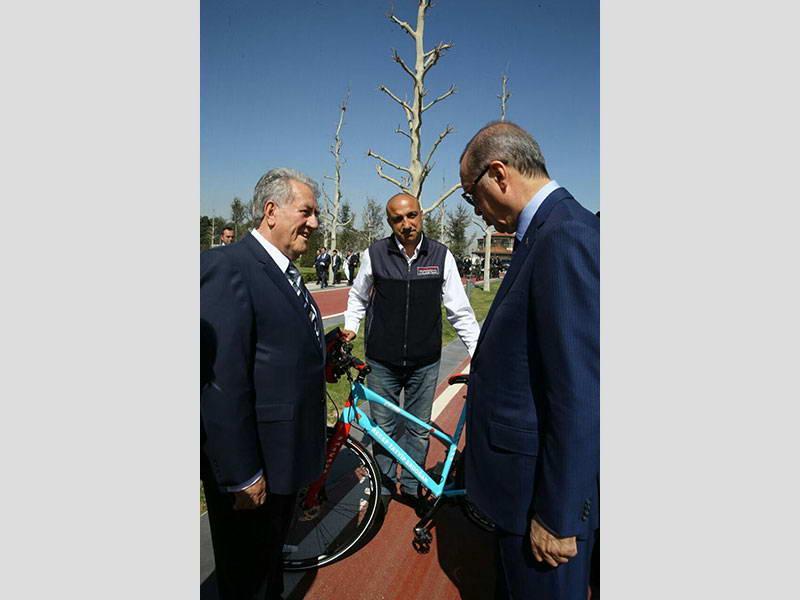 52. Cumhurbaşkanlığı Bisiklet Turnuvasının açılışı gerçekleşti