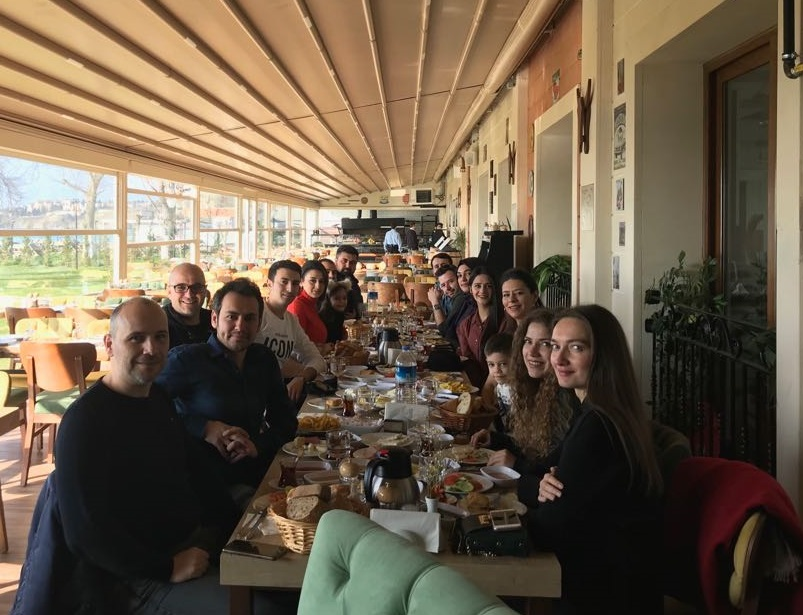 Akzirve Strada Ekibi Kahvaltı Programı