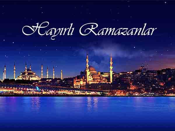 Ramazan Ayı Hoş Geldin